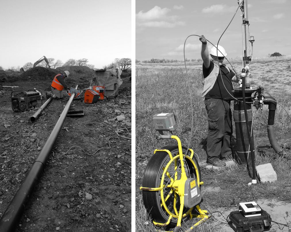 Gas well camera survey and rehab of gas well